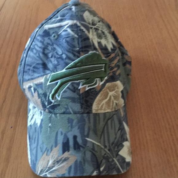 ca84e99c030 Buffalo Bills camouflage hat